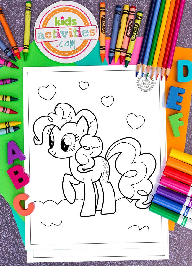 Adorable & Free My Little Pony Printable Coloring Pages