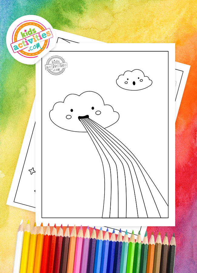 Here's How To Download Free Rainbow Coloring Pages For Preschoolers