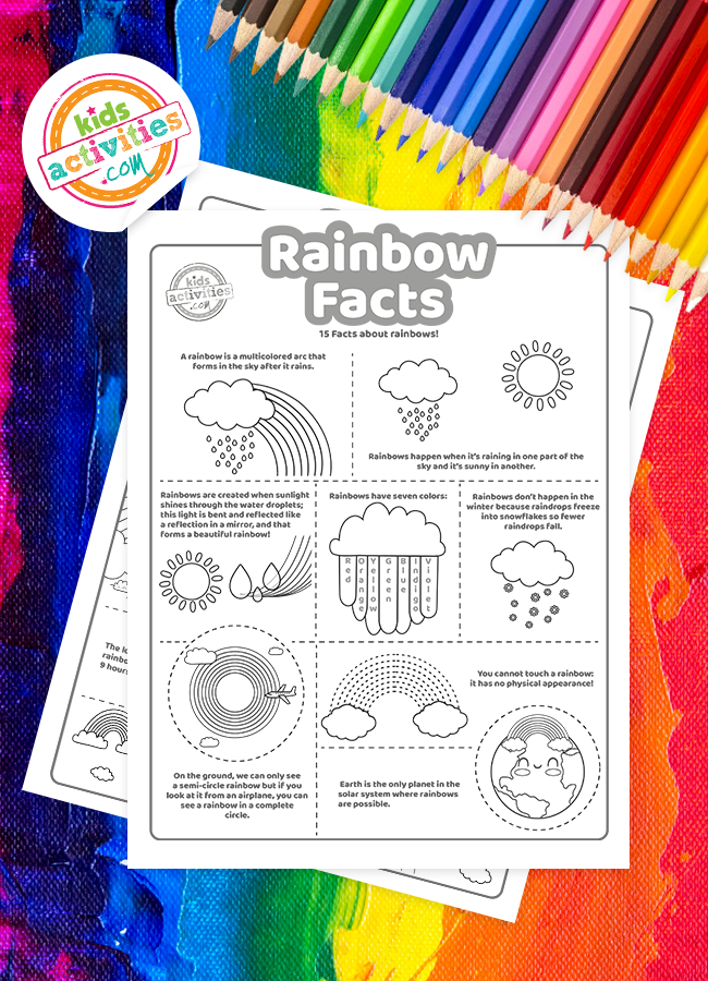 fun facts about rainbows
