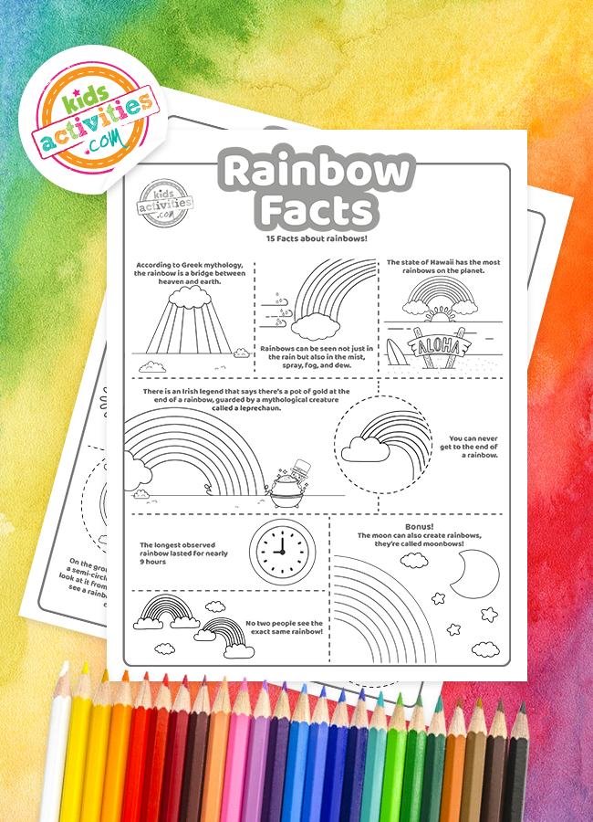 facts about rainbows