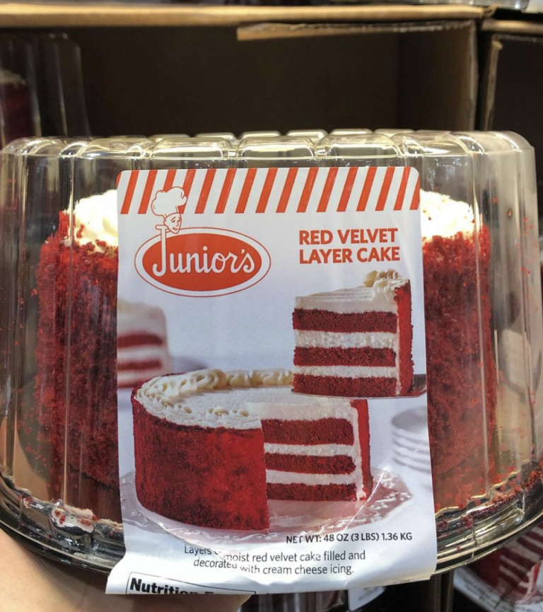 Costco Is Selling A 3-Pound Red Velvet Cake That Only Costs $13