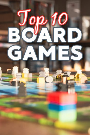 Top 10 board games for families as decided by Kids Activities Blog