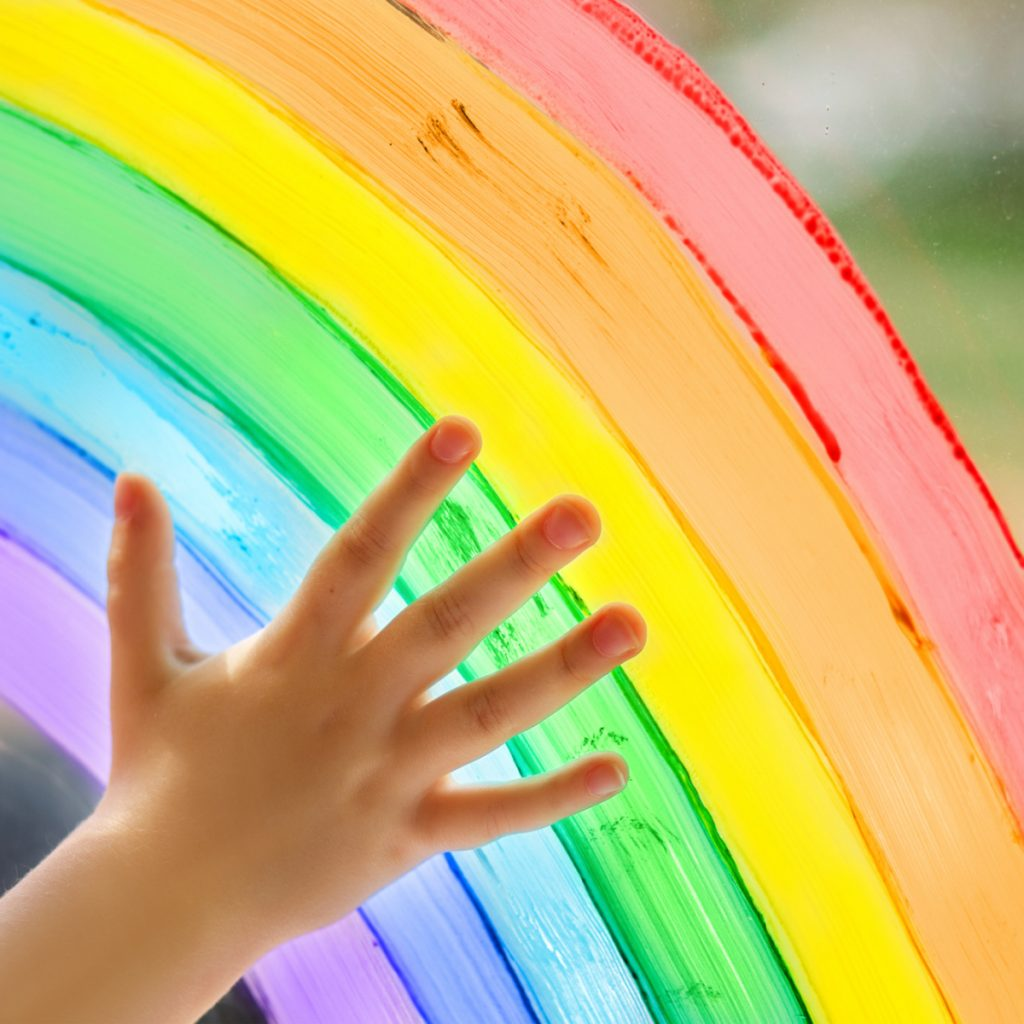 all things rainbow from rainbow printables to rainbow party ideas from Kids Activities Blog