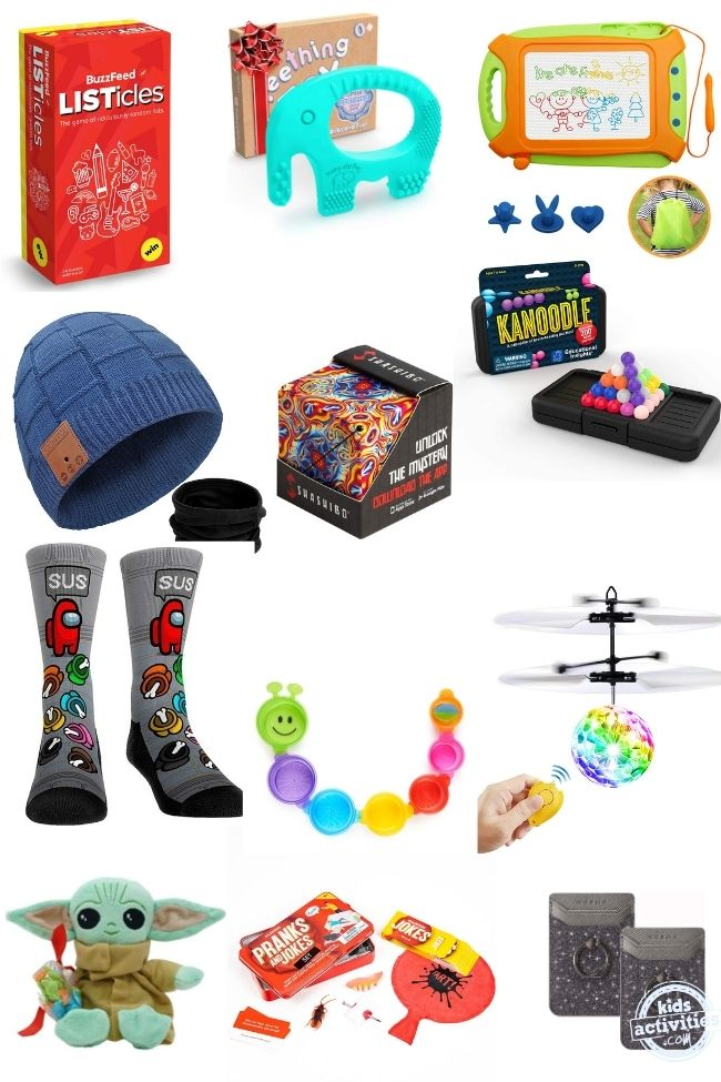 The Best stocking stuffers ideas for kids in 2020 you don't want to miss!