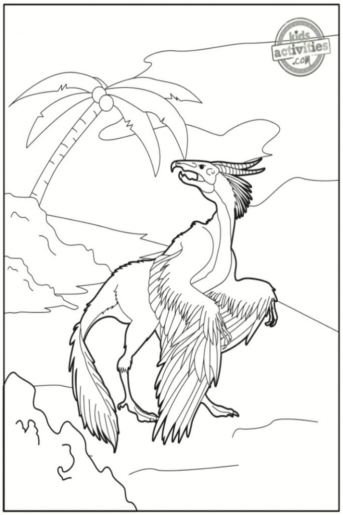 Archeopteryx Coloring Pages
