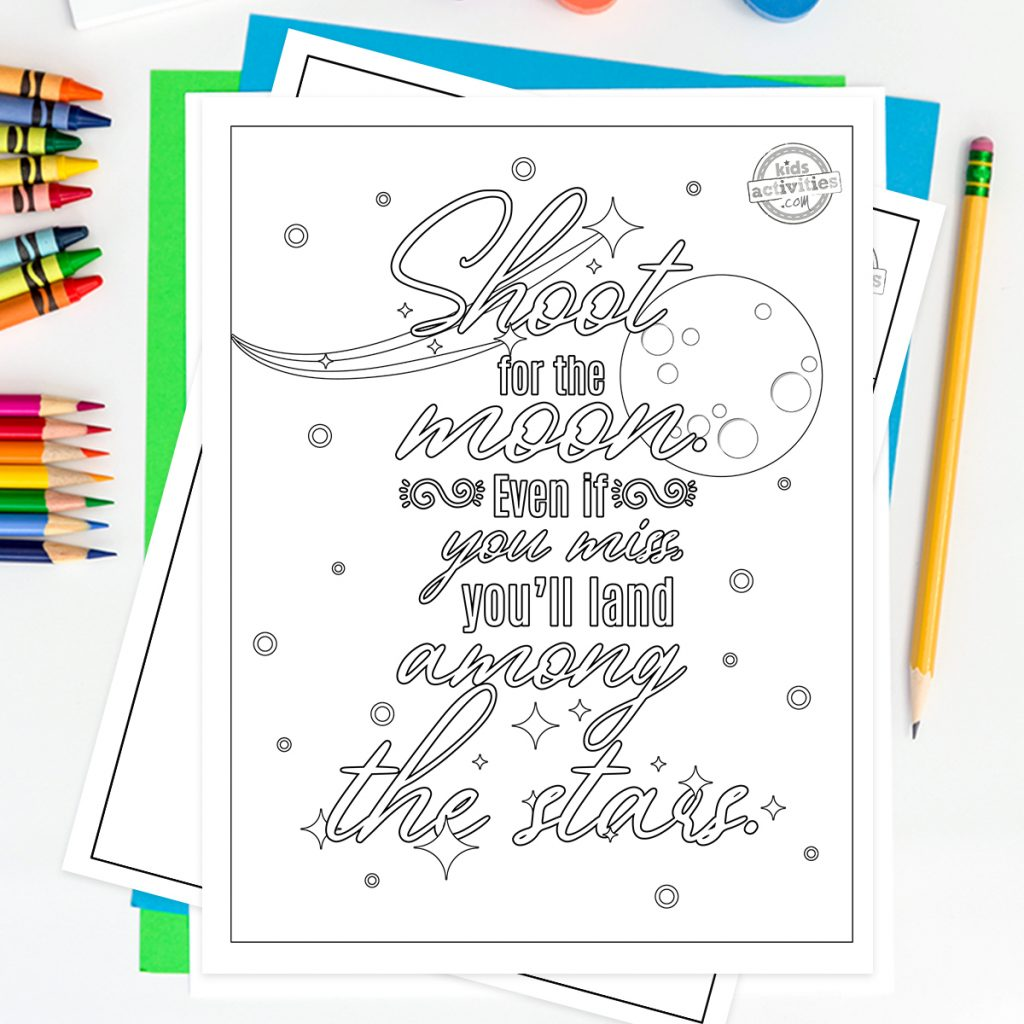 motivational quote coloring pages for adults