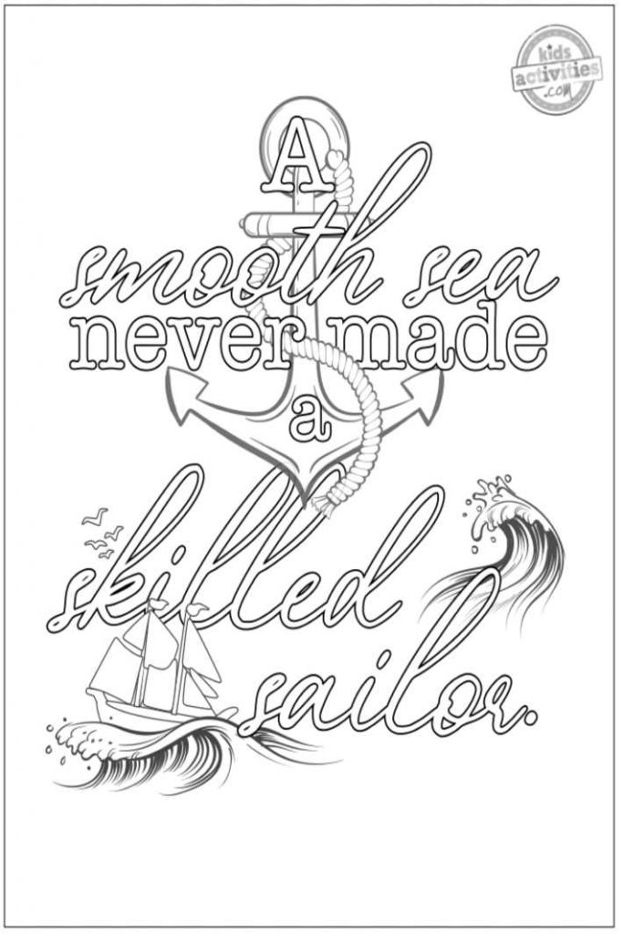 coloring pages motivational quotes