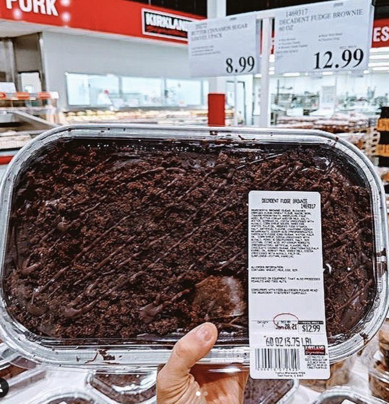 Costco Is Selling A 4-Pound Tray of Fudge Brownies So It's Time To Put Your Diet on The Back Burner