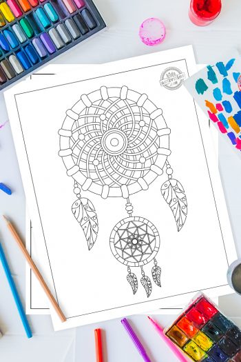 Trippy Coloring Pages For Adults Vertical 2
