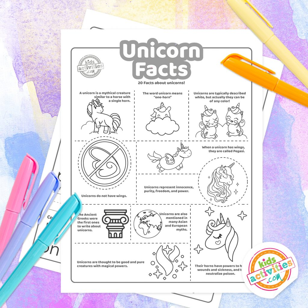 unicorn information and facts
