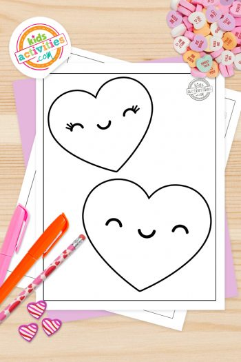 Valentines Coloring Pages For Toddlers