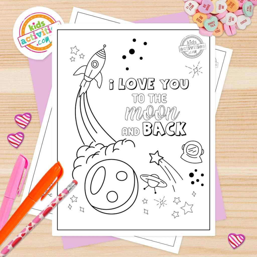 Valentines day coloring pages for adults pdf