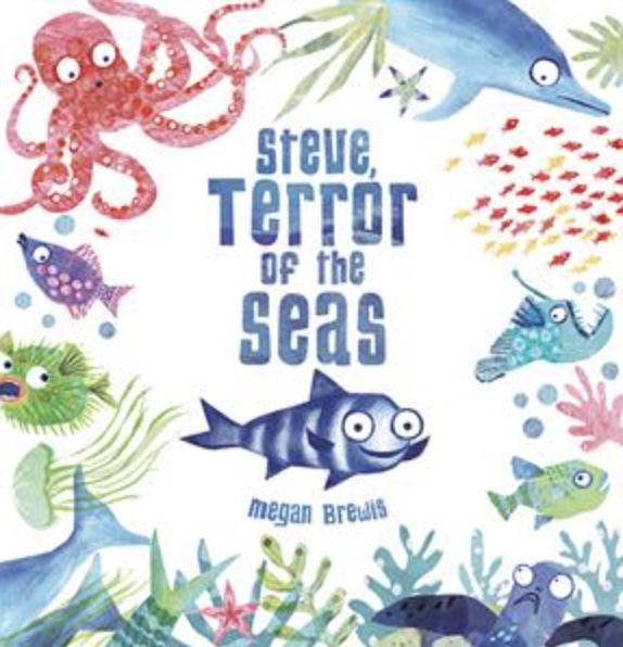 cover image of the book about fish Steve Terror of the Seas