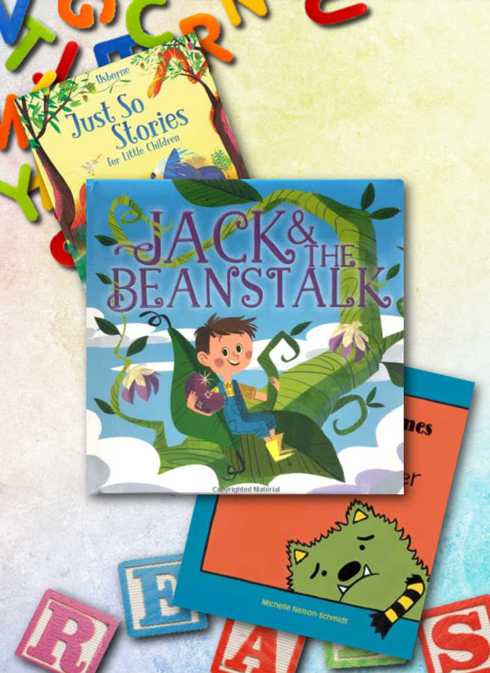 three favorite books to help teach the letter j to preschoolers