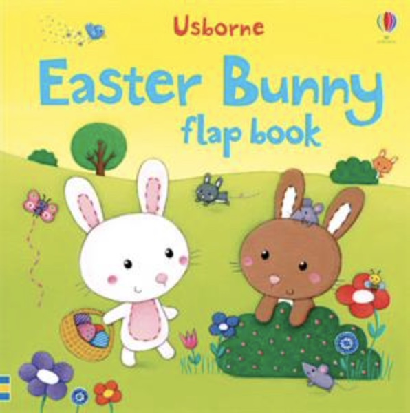 Usborne Easter bunny flap book cover art