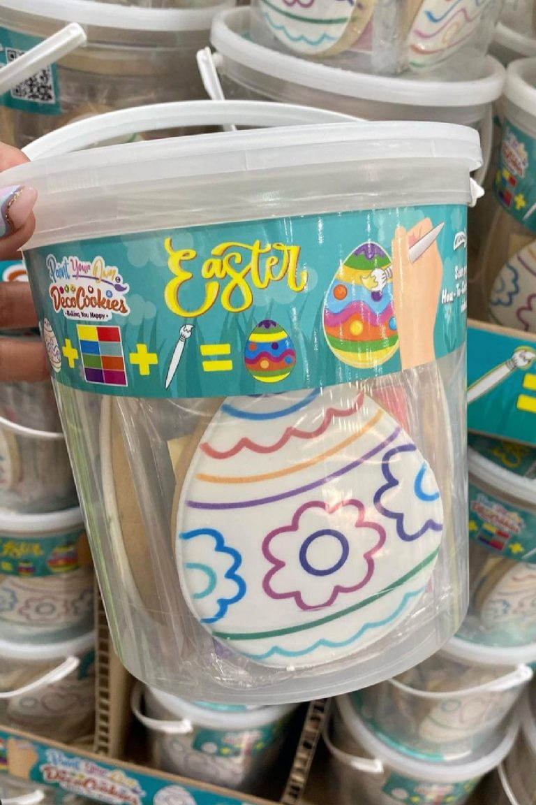 Costco Is Selling An Easter Cookie Kit That Allows You To Paint and Eat Your Own Cookies