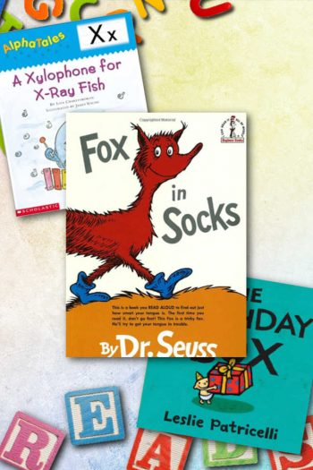 These are some of our favorite books to help Preschoolers learn the letter X! Fox, Box, Xylophone, X-Ray