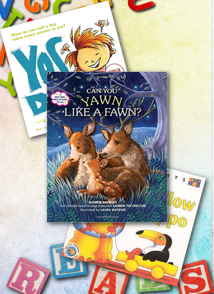 Some of our favorite letter Y books for preschoolers! Yellow Hippo, Yawn like a Fawn, Yes Day!