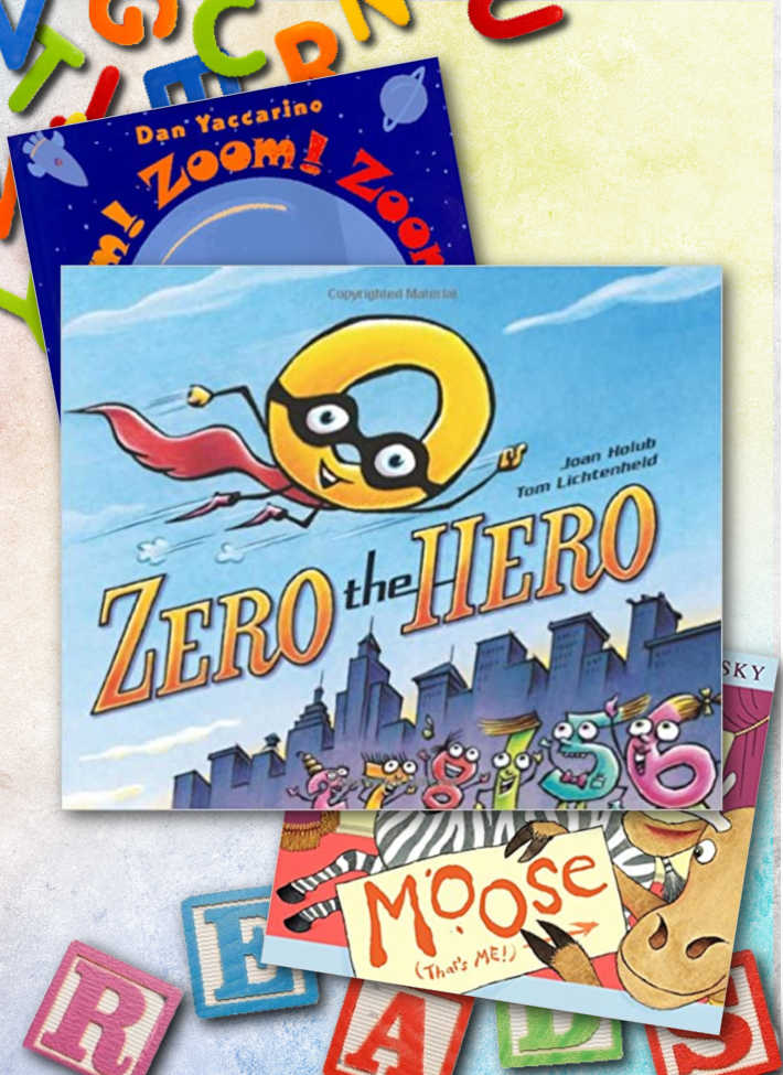 Some of our favorite letter Z books!