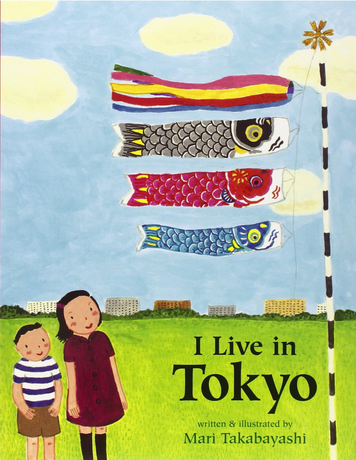 I Live in Tokyo book for kids about Japan and Japanese language and culture