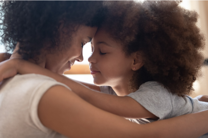 Things that Good Moms Do - Kids Activities Blog - mom and child hugging