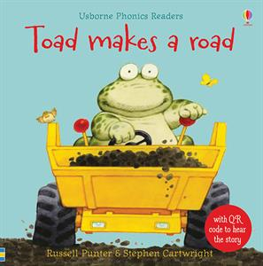 Toad Makes a Road (IR) book