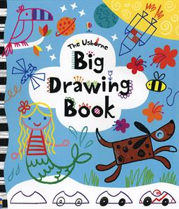 Usborne Big Drawing Book cover art