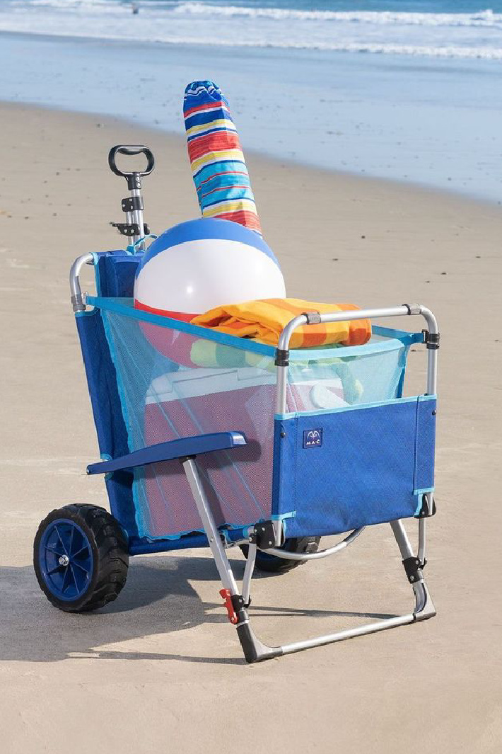 Costco is Selling A Wagon That Turns Into A Lounge Chair For The Perfect Day At The Beach