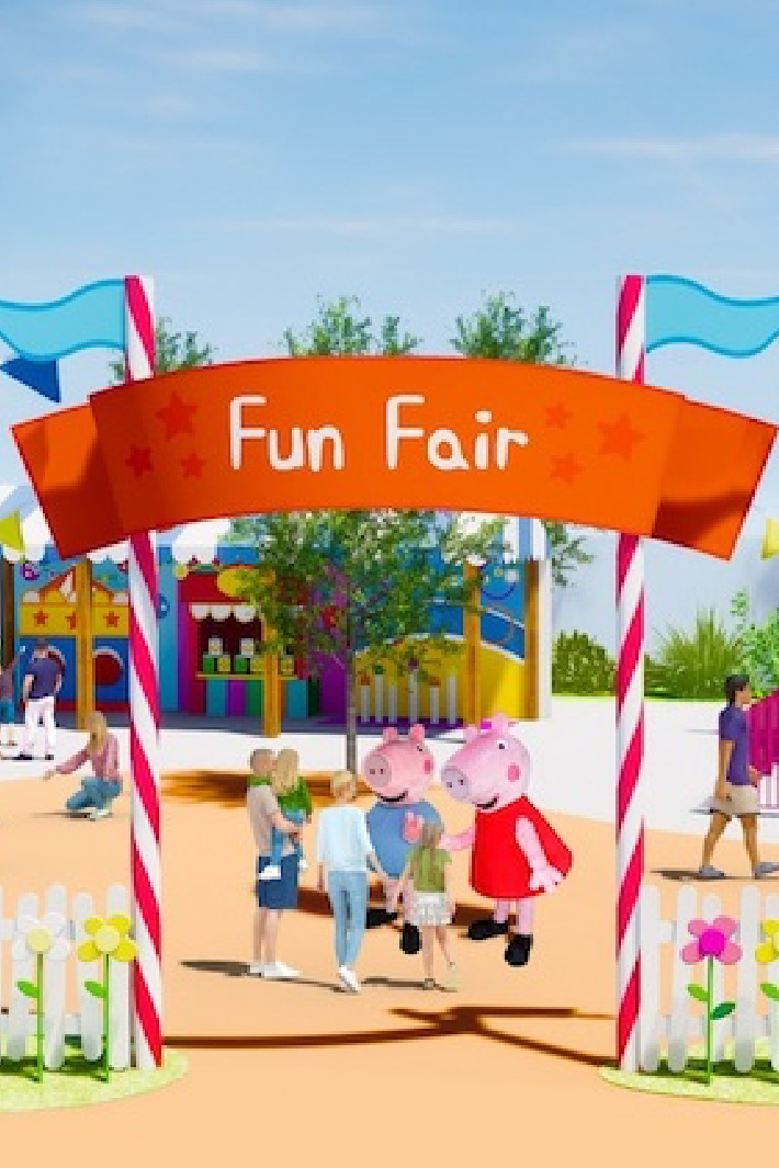 A Peppa Pig Theme Park Is Coming and We Can't Wait to Go