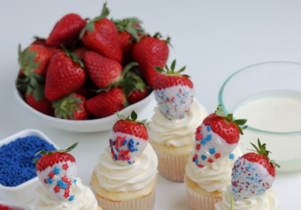 Easy & Delicious 4th Of July Cupcakes