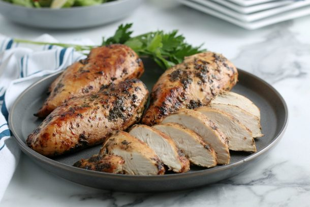 Air Fryer Chicken Breasts Recipe