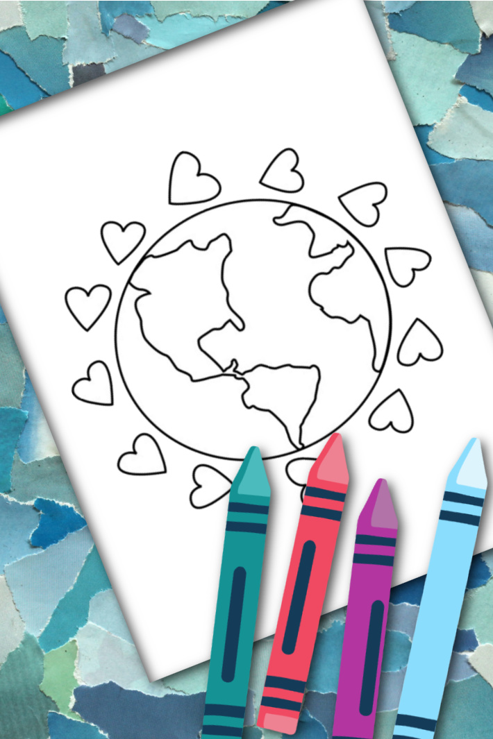 BIG Set of Free Earth Day Coloring Pages for Kids