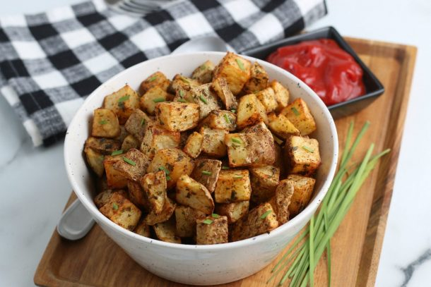 Easy Air Fryer Diced Potatoes Recipe