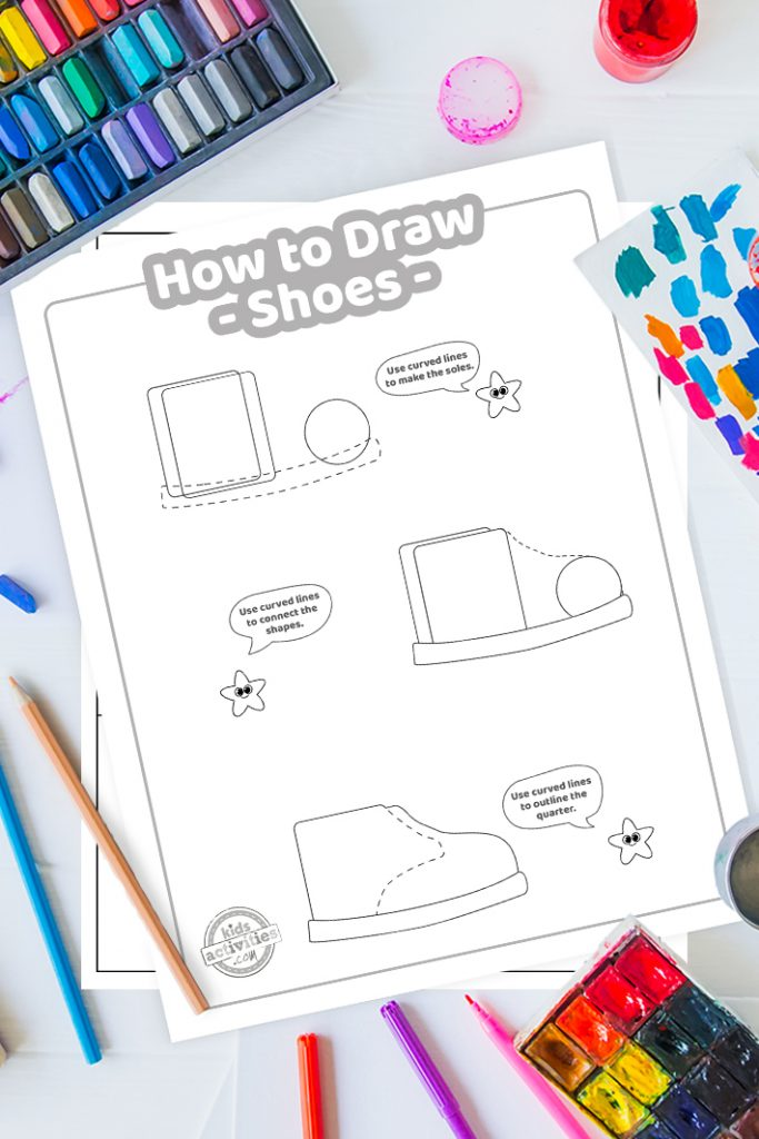 How To Draw shoes easy