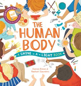 Usborne's The Human Body book cover with fun illustrations of kids learning.