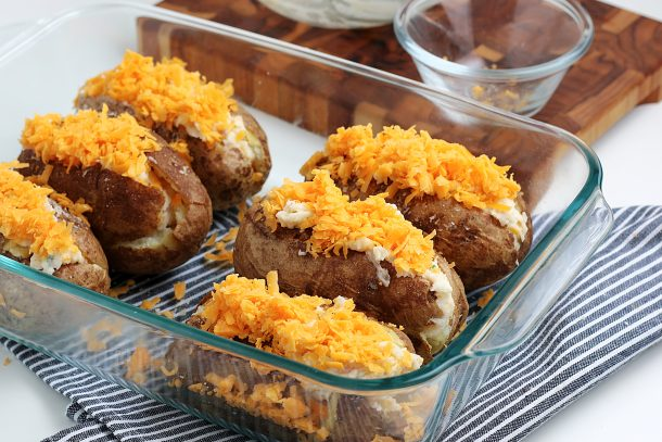 EasY Twice Baked Potatoes Recipe