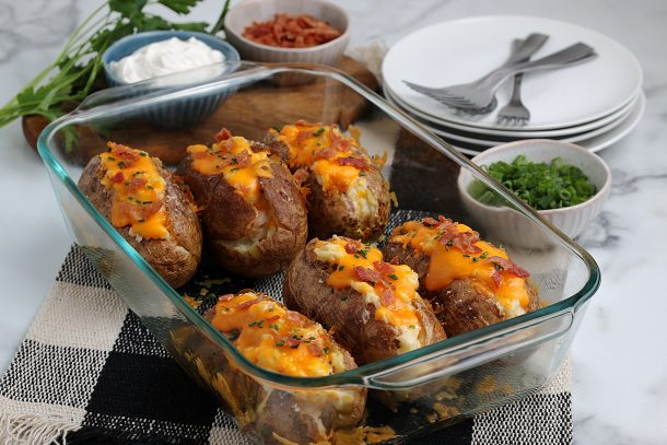Easy Twice Baked Potatoes Recipe - Step eat while warm
