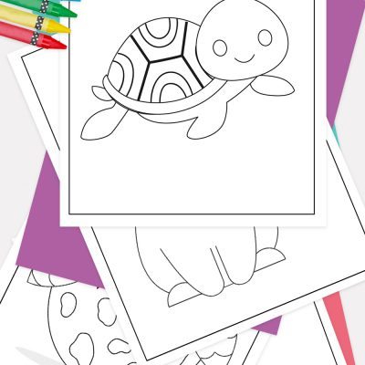Baby Animals Coloring Pages Pinterest