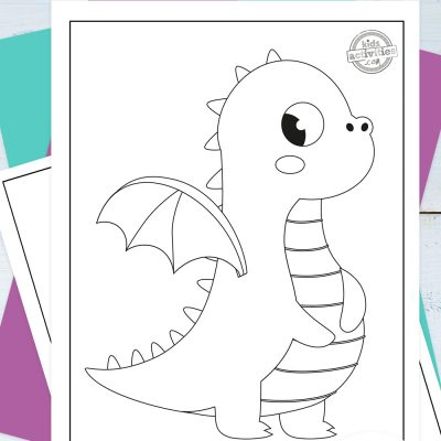 Baby Dragon Coloring Pages Pinterest