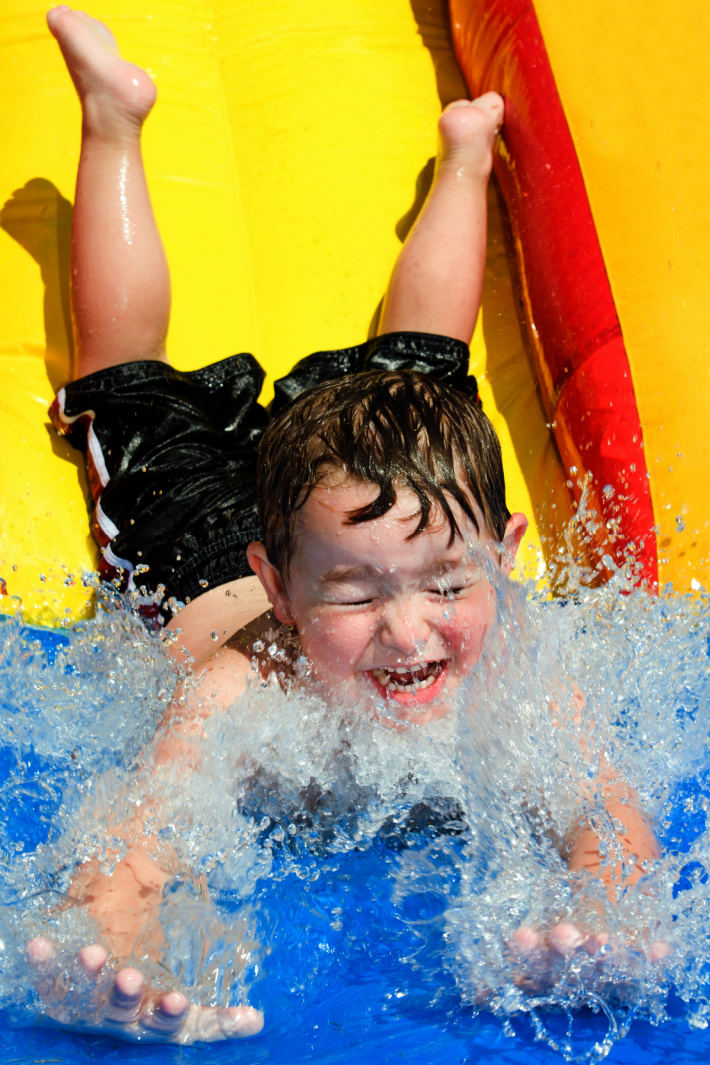 You Can Get A Water Slide You Fill With Water Balloons and My Kids Need One