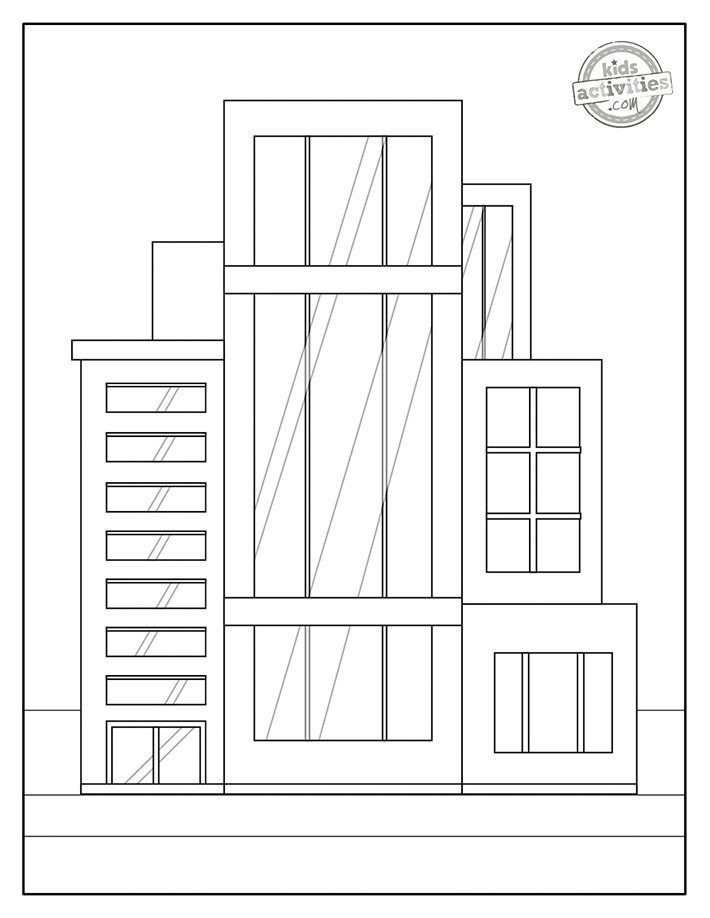 building coloring pages free