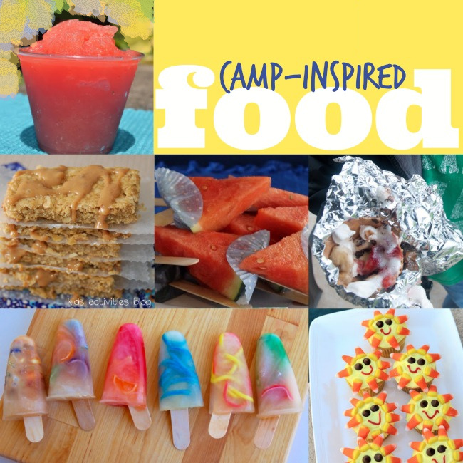 Camp food inspired by summer camp ideas - Kids Activities Blog - 6 camp food ideas