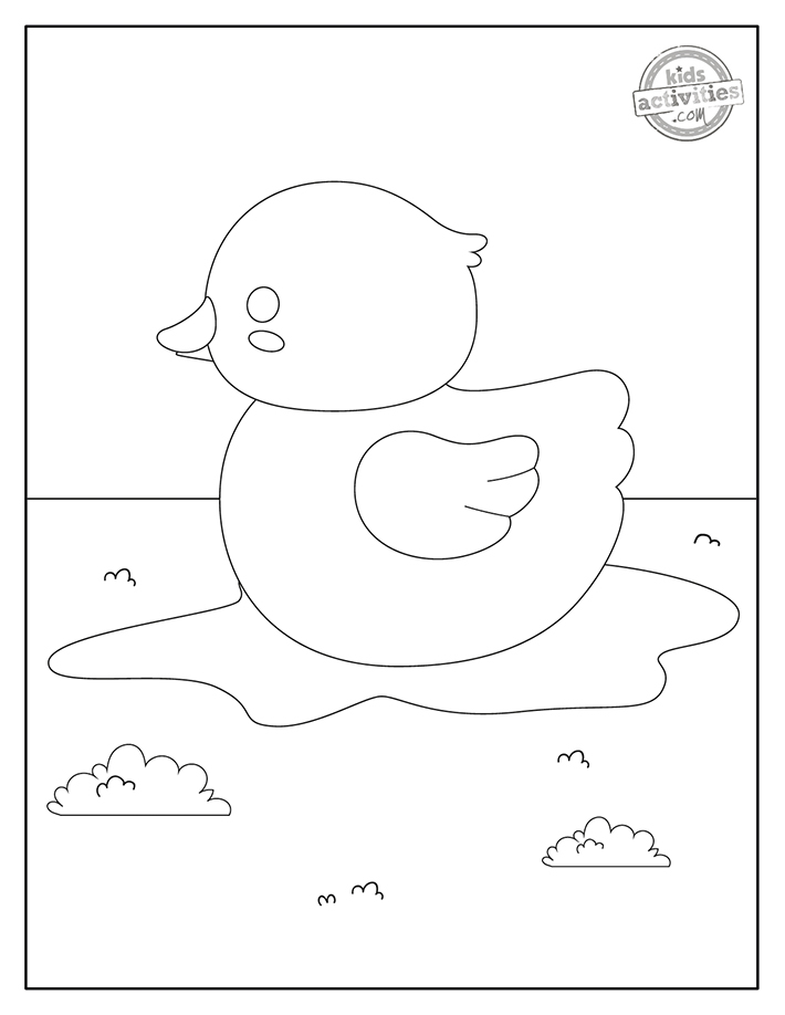 Duck Coloring Pages Screenshot