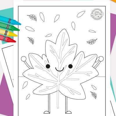 Fall Leaf Coloring Pages Pinterest