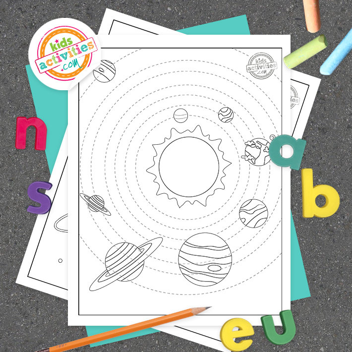 planets coloring pages free