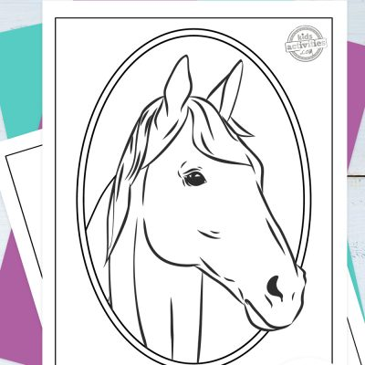 Realistic Horse Coloring Pages Pinterest