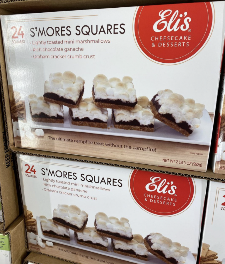 Costco Is Selling Pre-Made S'mores Squares To Take Your S'mores Game To The Next Level