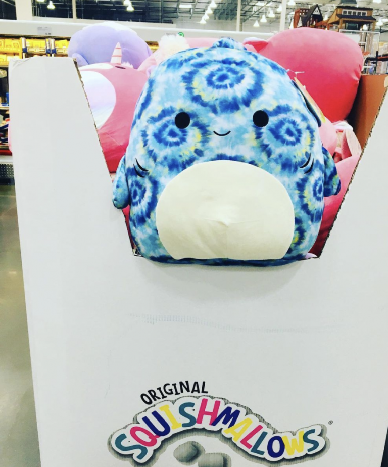 Costco Is Selling Neon and Tie Dye Squishmallows Just In Time For Summer