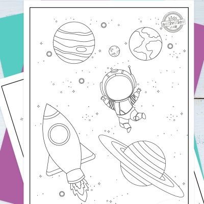 Space Coloring Pages Pinterest