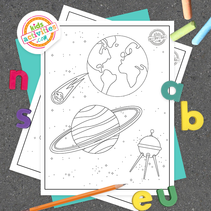 free space coloring pictures